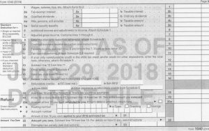 Draft Form 1040 For 2018 Page 2